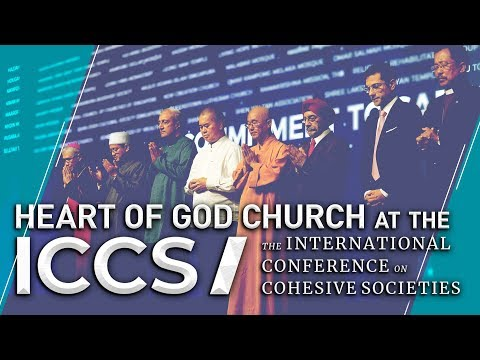 Heart of God Church at the International Conference on Cohesive Societies (ICCS)