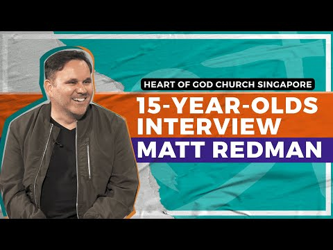 EXCLUSIVE: 15-year-olds interview Grammy Winner Matt Redman
