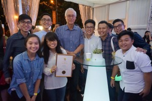 Singapore Kindness Movement Awards HOGC Youth