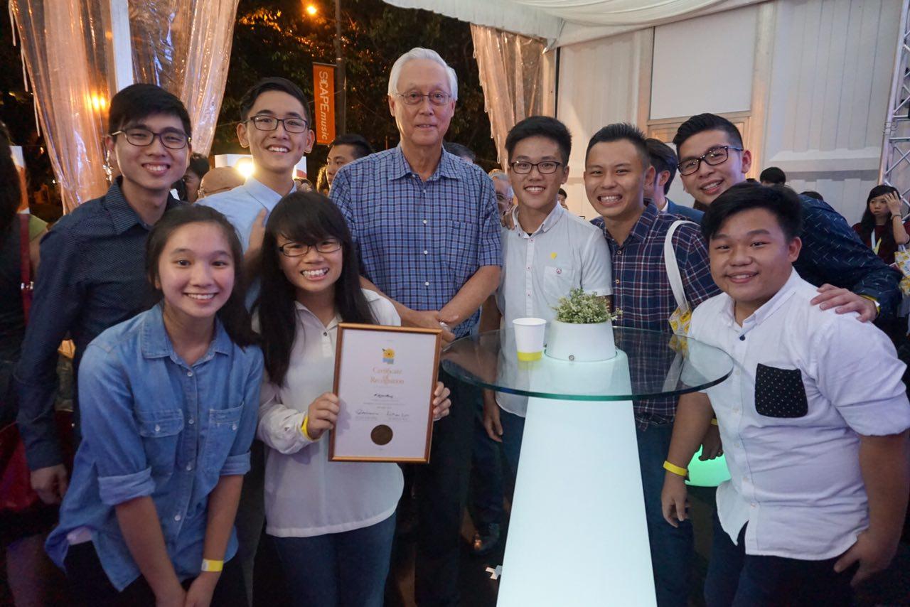 Singapore Kindness Movement Awards HOGC Youth