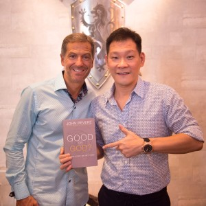 John Bevere with Pastor Tan Seow How - Heart of God Church (Singapore)