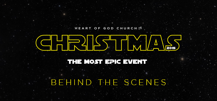 Xmas at Heart of God Church BTS-HOGC Stories