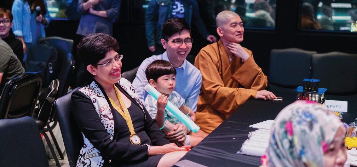 Stepping into 2019 with the Geylang Serai Family