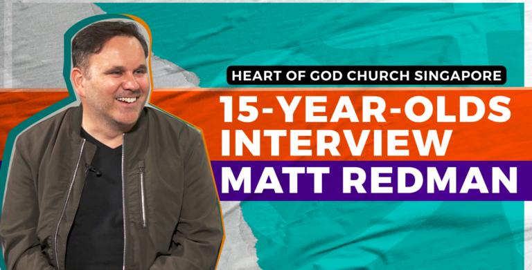 EXCLUSIVE: 15-year-olds interview Grammy Winner Matt Redman
