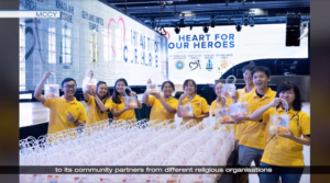 Heart of God Church on Mediacorp Channel 5 News: Heart for Our Heroes Initiative