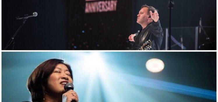 Matt Redman and Streams of Praise live at heart of God Church