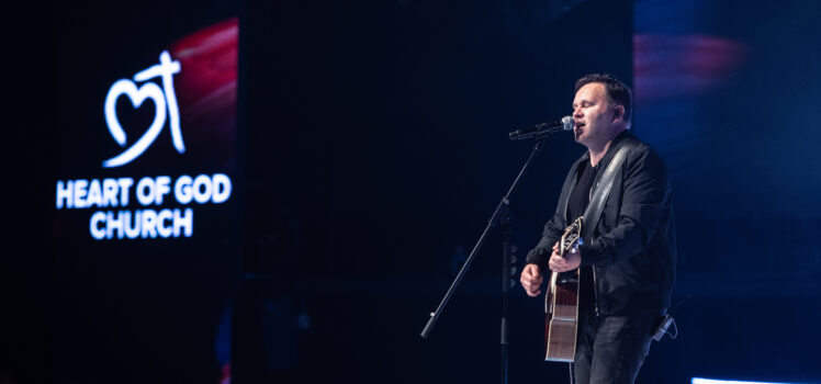 Matt Redman filmed the official live music video for The Same Jesus at Heart of God Church
