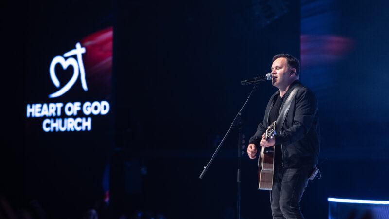 Matt Redman filmed the official live music video for The Same Jesus at Heart of God Church