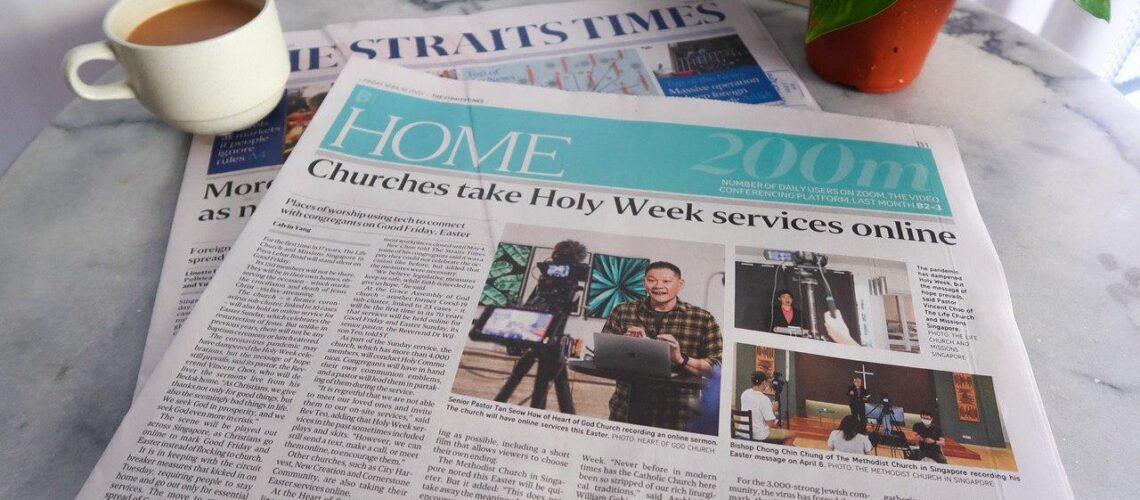 ST feature on Easter