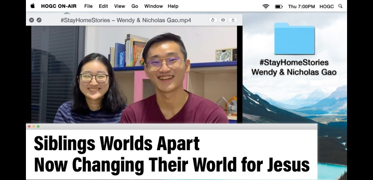Siblings Apart Now Changing Their World For Jesus