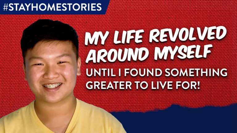 My Life Revolved Around Myself Until I Found Something Greater to Live For!