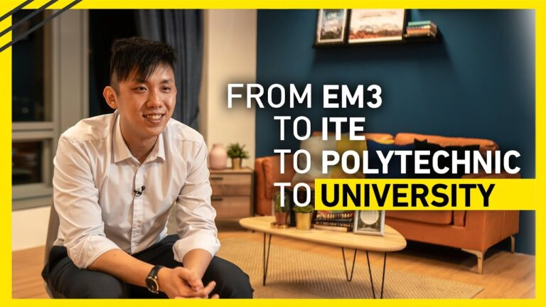 From EM3 to ITE to Polytechnic to University