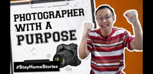 Photographer with a purpose