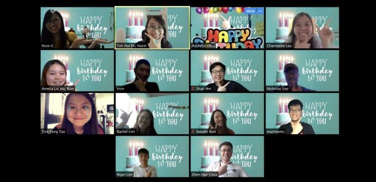 How HOGC Celebrates One Another Online